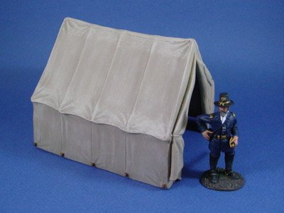 Safari Toy Soldiers Civil War Officer's Tent