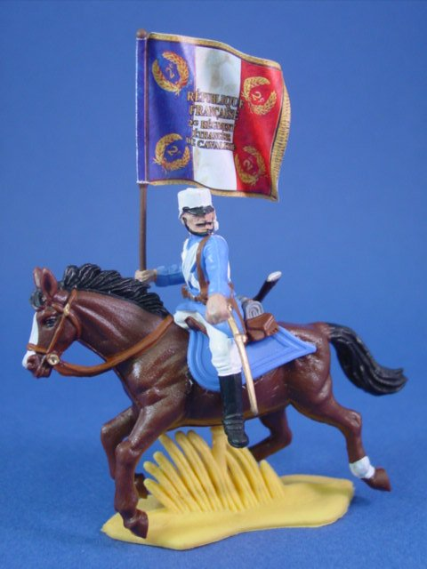 Britains Deetail DSG Toy Soldiers French Foreign Legion Flag Bearer