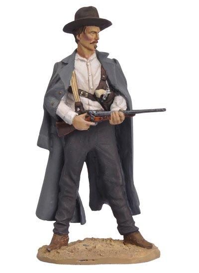 Black Hawk Tombstone OK Corral Doc Holliday 1/32 Metal Figure in Box BH0303