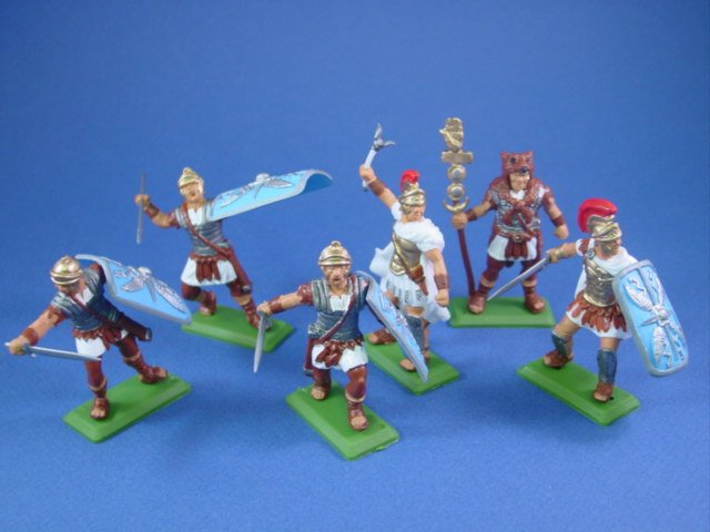 Britains Deetail DSG Toy Soldiers Roman Imperial Legion Soldiers in White