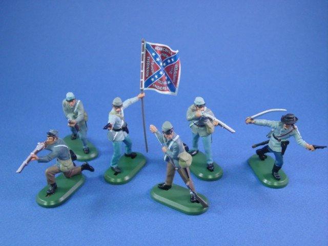 Britains Deetail Civil War Toy Soldiers Confederates 28th NC Regiment