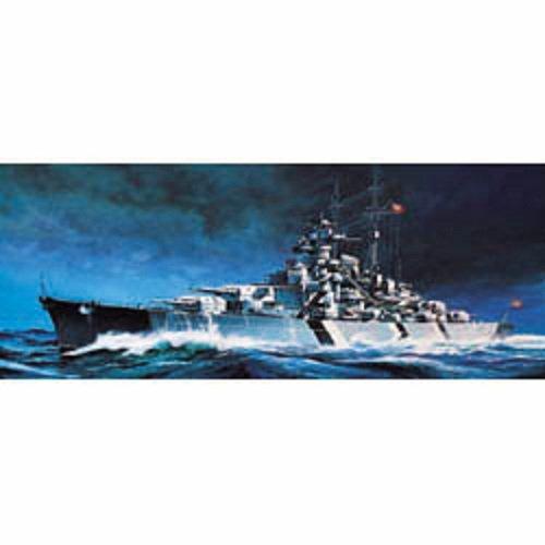 Model Kit 1/800 Scale Tirpitz Battleship (Motorized) Academy 1438