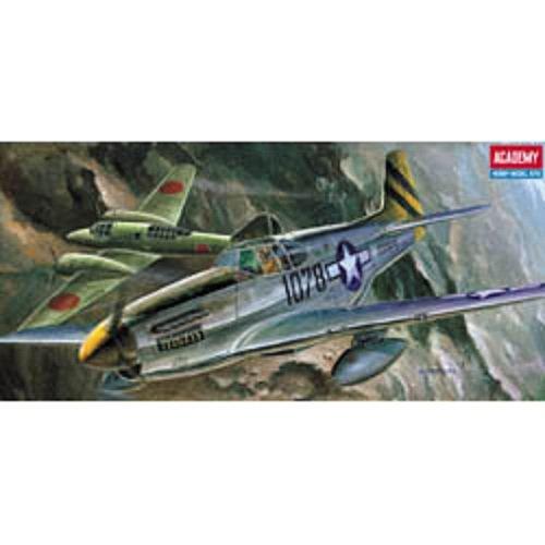 Plastic Model Kit 1/72 Scale P51C Mustang Fighter