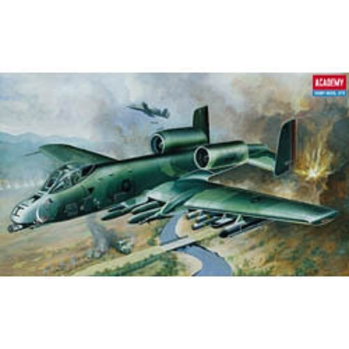 Plastic Model Kit 1/72 Fairchild REP A10A Warthog USAF Fighter