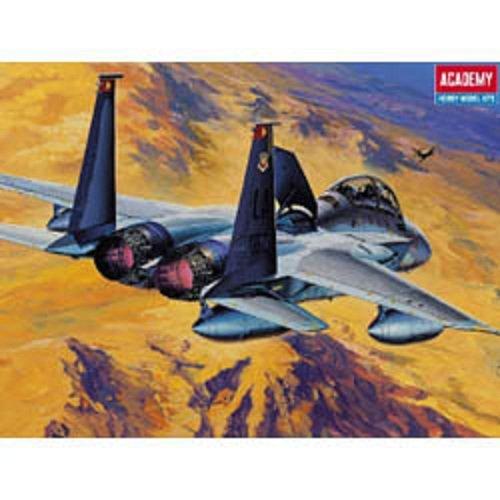 Plastic Model Kit 1/72 F15D Eagle Fighter Academy