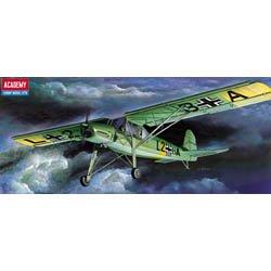 Plastic Model Kit 1/72 Fieseler Fi156 Storch Aircraft Academy 12459
