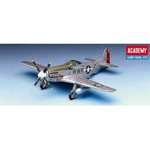 Plastic Model Kit 1/72 P51D Mustang Fighter Academy 12485