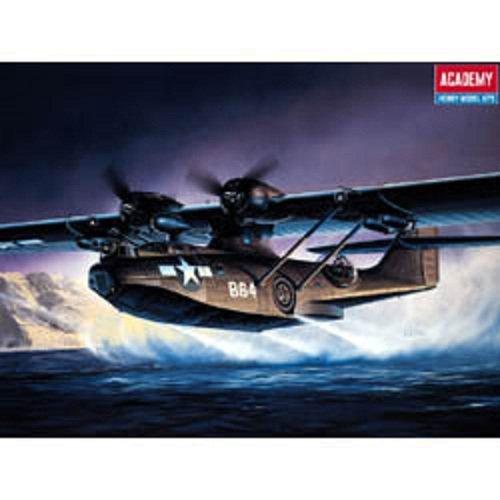 Plastic Model Kit 1/72 PBY5A Black Cat Aircraft Academy 12487