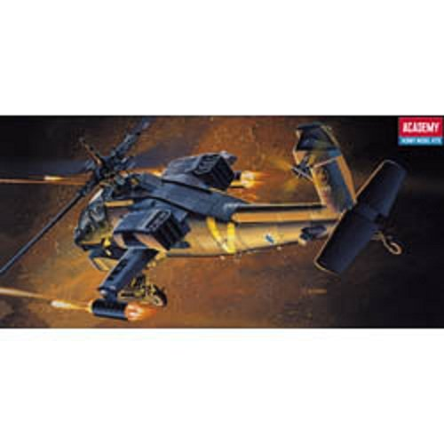 Plastic Model Kit 1/72 AH64A Apache US Helicopter Academy 12488
