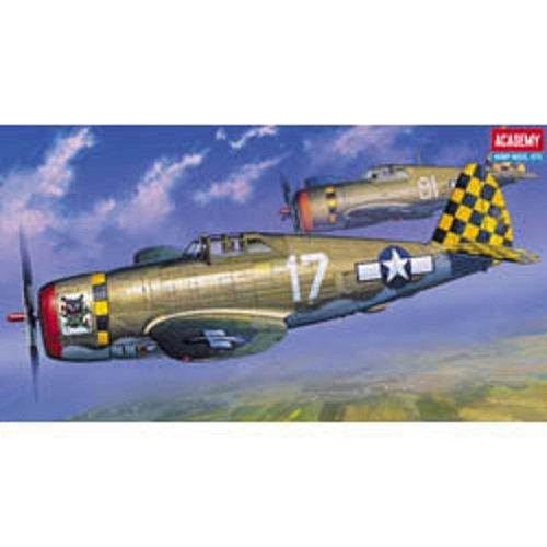 Plastic Model Kit 1/72 P47D Razorback Fighter Academy 12492