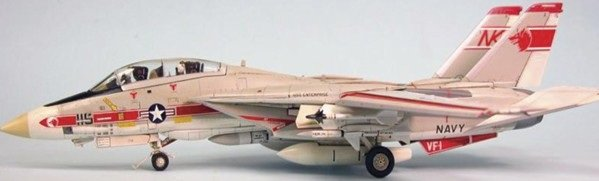 1/72 F14A VF1 Wolf Pack USN Aircraft (Ltd Edition)