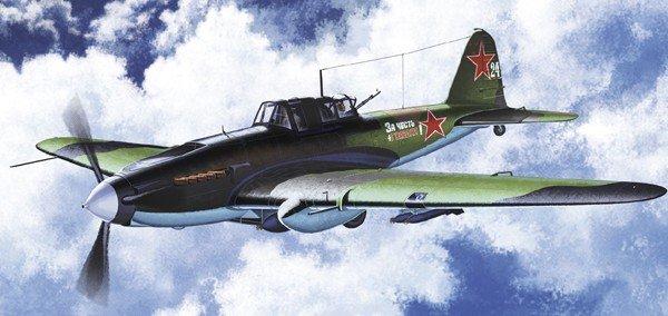 Plastic Model Kit 1/72 IL2M Stormovik Fighter Academy 12510