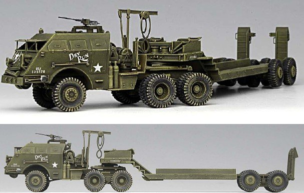 Plastic Model Kit 1/72 WWII M25 US Dragon Wagon Academy 13409
