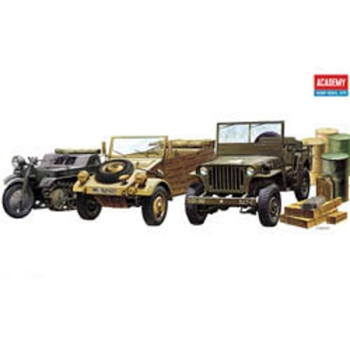 Plastic Model Kit 1/72 Ground Vehicle Set Academy 13416