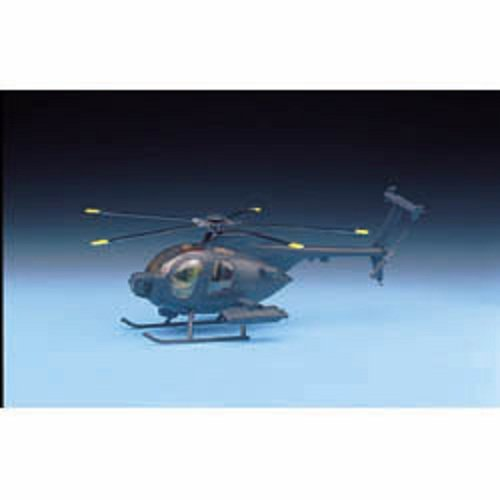 Plastic Model Kit 1/48 Hughes MH6 Helicopter Academy 1691