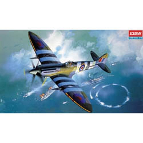 Plastic Model Kit 1/48 Spitfire Mk XIV C RAF Fighter Academy 2157
