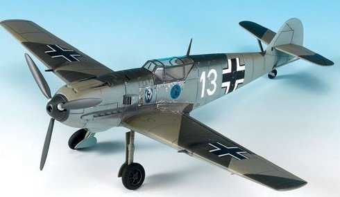 Messerschmitt Bf109E3 Heinz Bar Aircraft