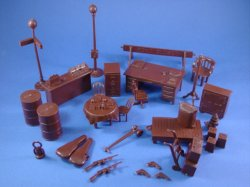 Thumbnail of Marx Untouchables Playset Reissue Accessories 34 Piece Set