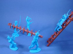 Thumbnail of Alamo Playset Mexican Wall Assault Set with 2 Ladders