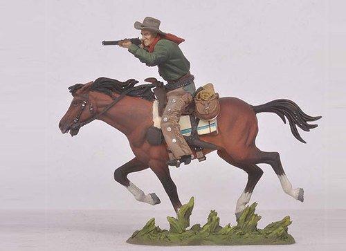 Horseback Shooting Cowboy FW-0414