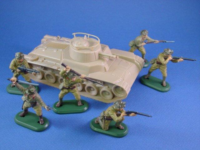 Japanese Chi Ha Tank