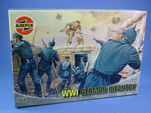 Box Airfix WWI Germans