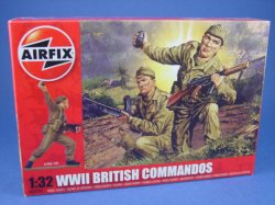 Thumbnail of Airfix 1:32 Toy Soldiers WWII British Commandos 14 Piece Set 2705