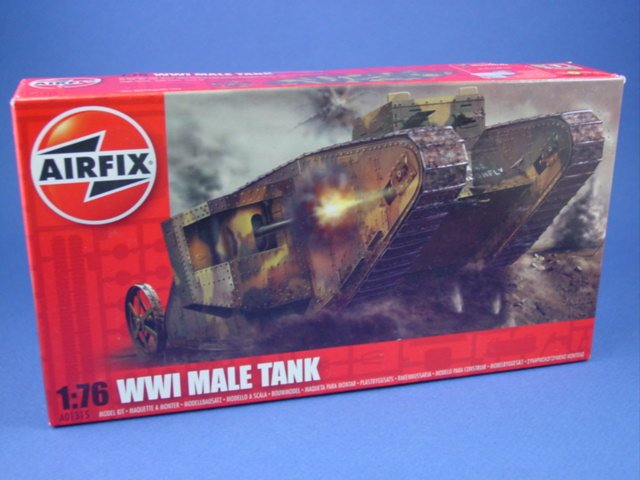 Western Bedroom Tank Toy Box Or: Airfix 1:72 Toy Soldiers WWI 1916 Western Front Tank New
