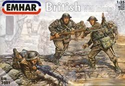 Emhar WWI British Infantry Set 12 1:35 Scale Figures in 6 Poses