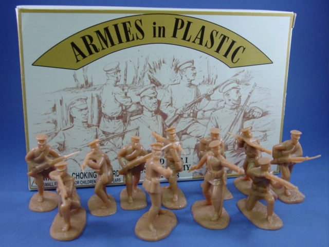 Armies in Plastic 54mm WWI Russian Infantry 20 Figures in 10 Poses