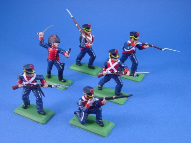 Britains Deetail DSG Toy Soldiers Battle of the Alamo Mexican Infantry Set 2