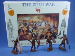 Thumbnail of Call to Arms 1:32 Zulu War Zulus at Rorke's Drift 16 Plastic Figures