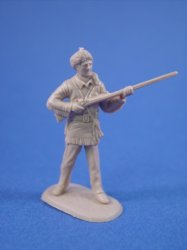 Thumbnail of Marx 45mm Alamo Playset Davy Crockett Character Figure Cast in Tan