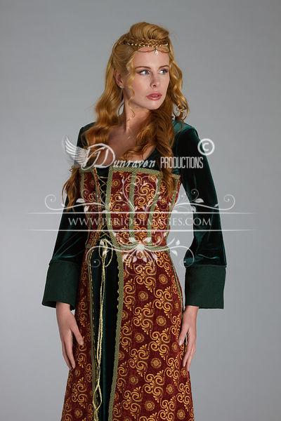 Image 0 of Medieval Copper Dress