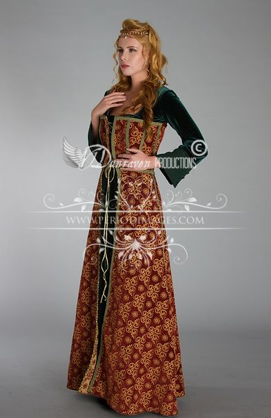 Image 1 of Medieval Copper Dress