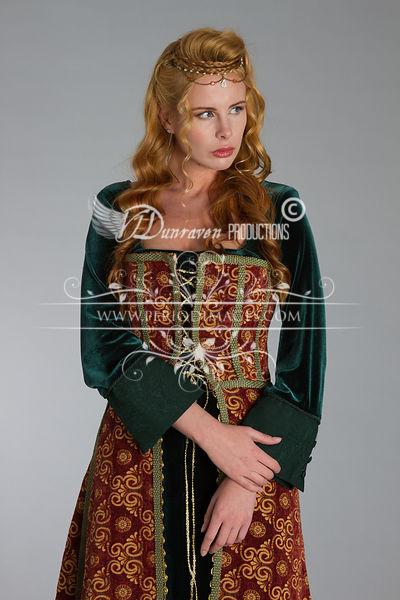 Image 2 of Medieval Copper Dress