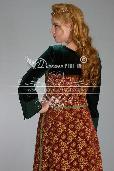 Image 3 of Medieval Copper Dress