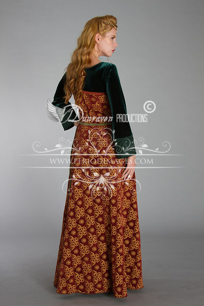 Image 4 of Medieval Copper Dress