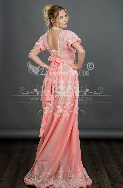 Image 0 of Regency Coral Gown