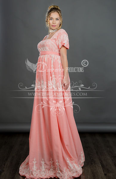 Image 1 of Regency Coral Gown