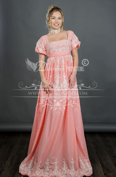 Image 3 of Regency Coral Gown