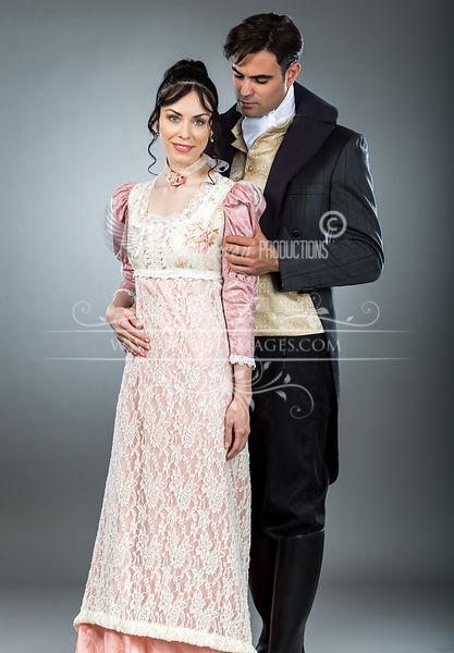 Image 0 of Regency Tea Rose  Gown