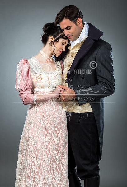 Image 1 of Regency Tea Rose  Gown