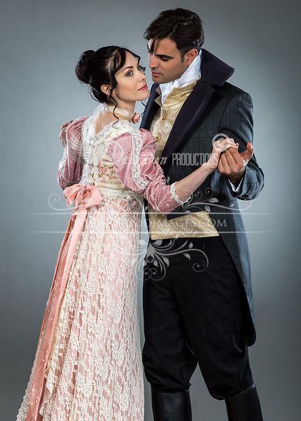 Image 3 of Regency Tea Rose  Gown