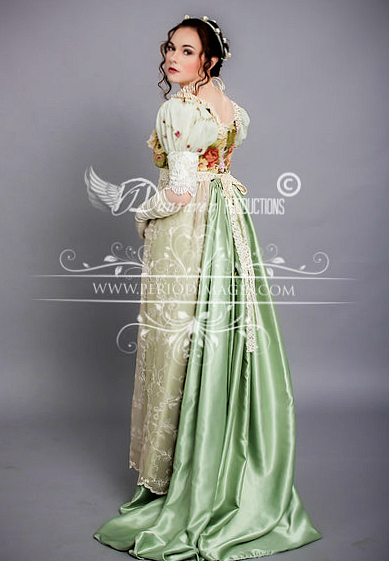 Image 0 of Regency Sage  Gown