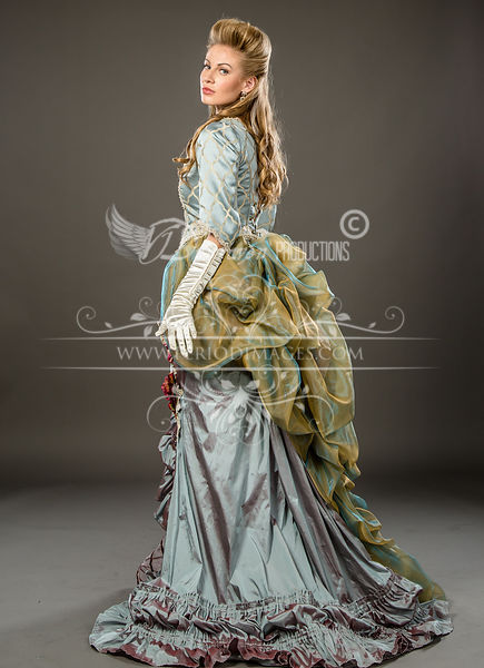Image 1 of Duchess Rose Victorian Ball Gown