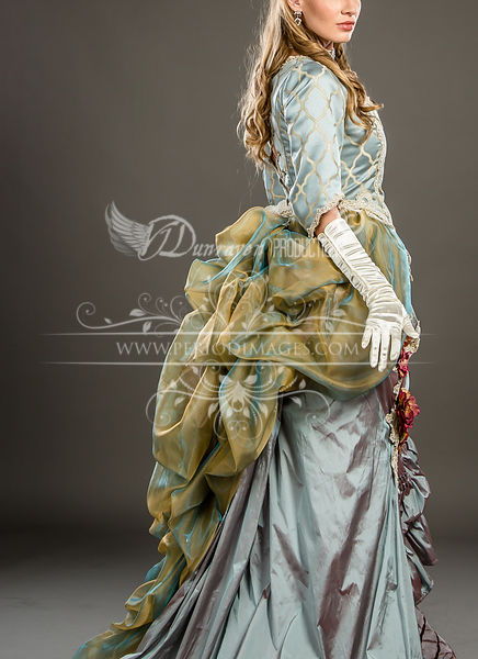 Image 3 of Duchess Rose Victorian Ball Gown