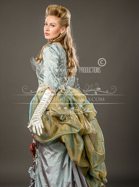 Image 4 of Duchess Rose Victorian Ball Gown