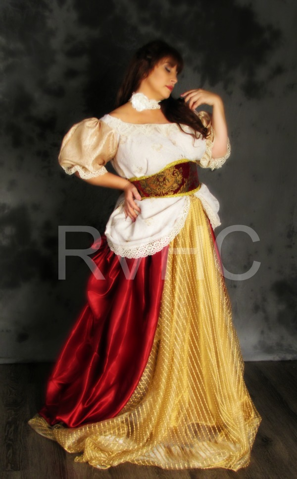 Image 1 of Countess Victoria Promenade Gown