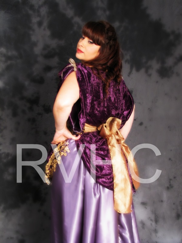 Image 3 of Orchid Victorian Promenade Gown